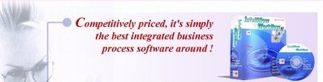 Competively priced, it's simply the best integrated business process software around!